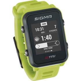 SIGMA SPORT iD.TRI Basic Reloj Multideporte, neon green